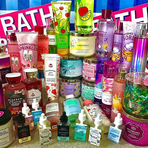 Bath & Body Works Products