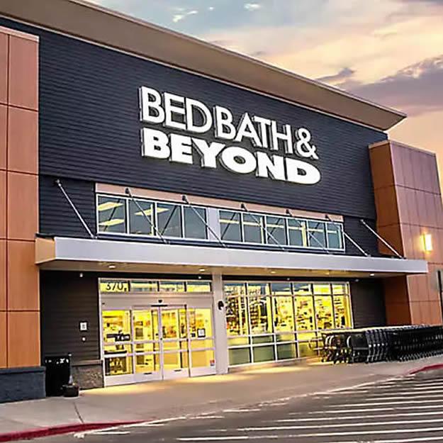 Bed Bath & Beyond Storefront