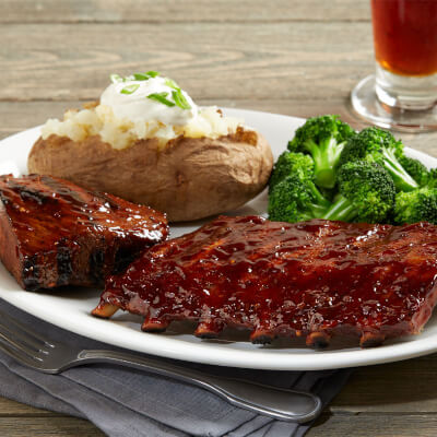 BJ's Tri-Tip & Baby Back Ribs Combo