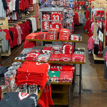 Rally House Rookwood Reds Gear