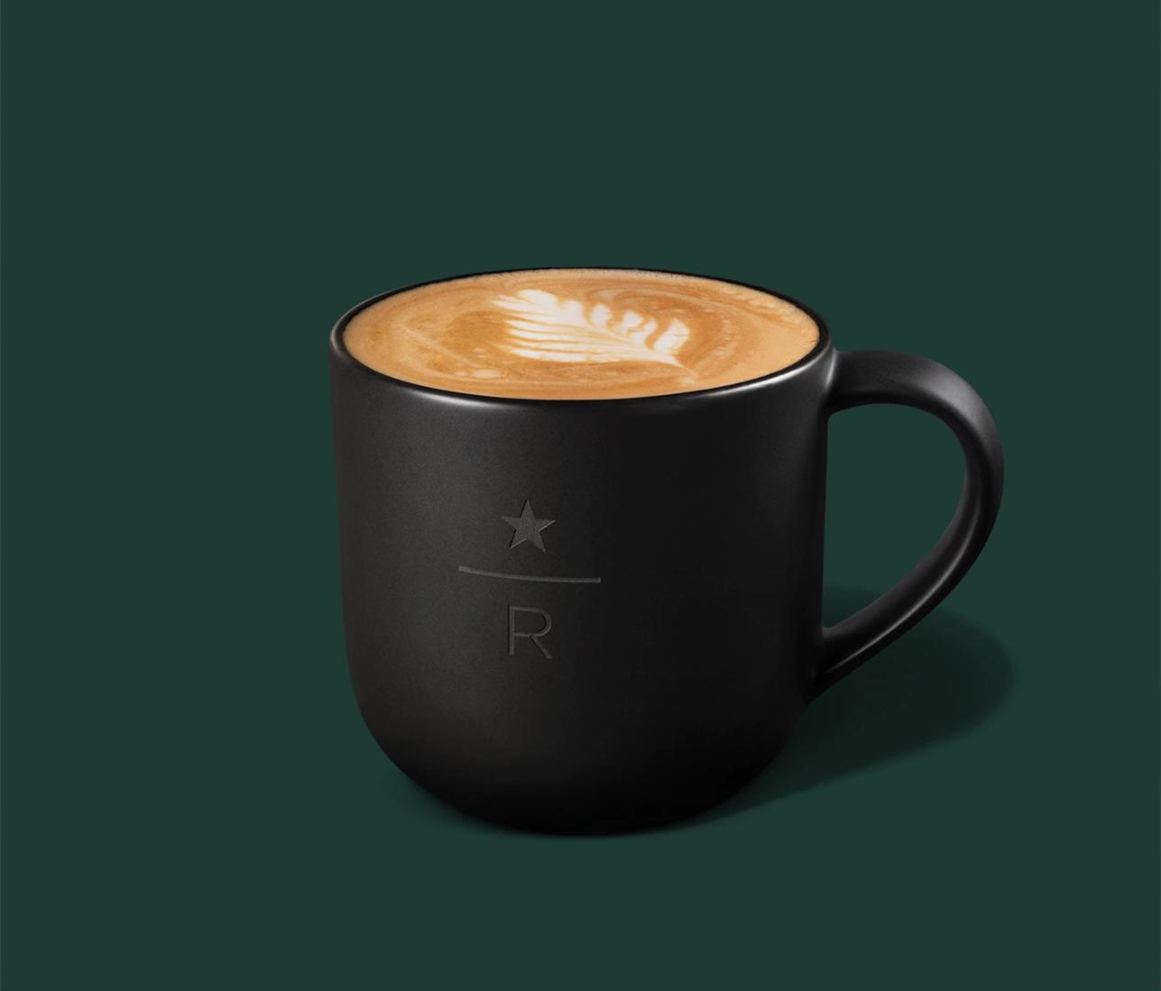 Starbucks Reserve Latte